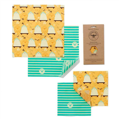 Beeswax Food Wrap - Lunch Set