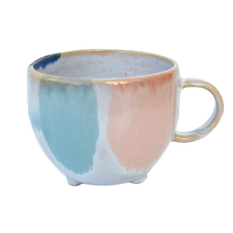 Watercolour Feet Stoneware Mugs