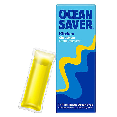 Ocean Saver Kitchen Degreaser Ecodrop, Citrus Kelp, plastic free, zero waste, sustainable, Portugal