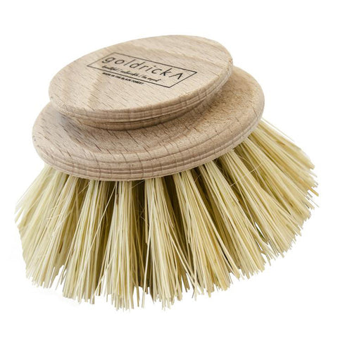 Large Wooden Dish Brush - Replacement Head