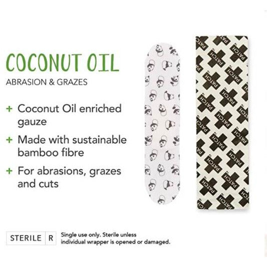 Patch Coconut Oil Band Aids - Mos eco store