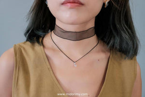 Lovely Diamond Choker