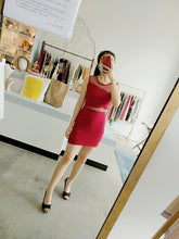 Load image into Gallery viewer, Skinny Bodycon Dress in Red