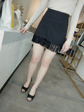 Load image into Gallery viewer, Sher Wild Skirt in Black