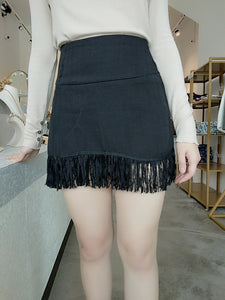 Sher Wild Skirt in Black