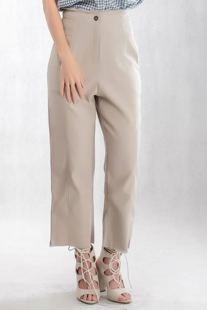 Versace Long Pant In Brown