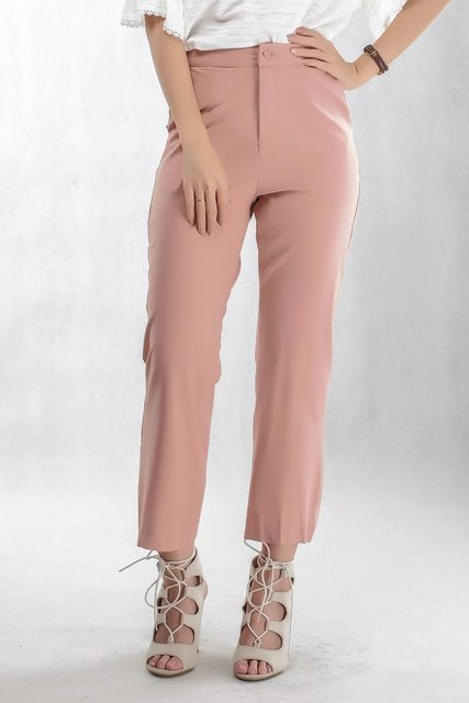 Elegant Simple Style Pant In Pink