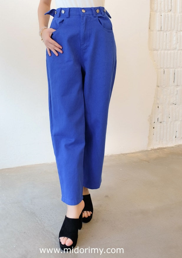 Leona Straight Cut Jeans in Blue