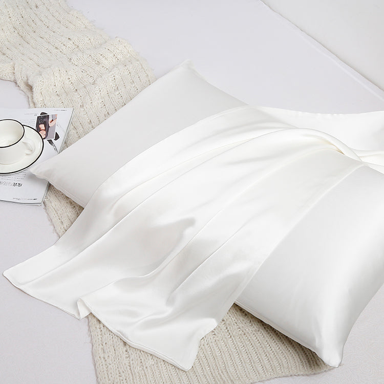 30 Momme 100% Pure Organic Silk Pillowcase