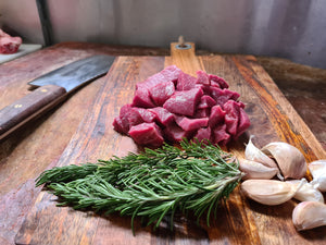 Grass-fed Diced Beef