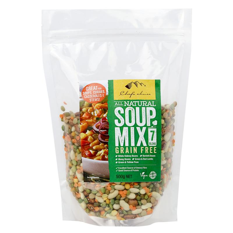 Chef's Choice All Natural Soup Mix 7 Blend Grain Free 500g