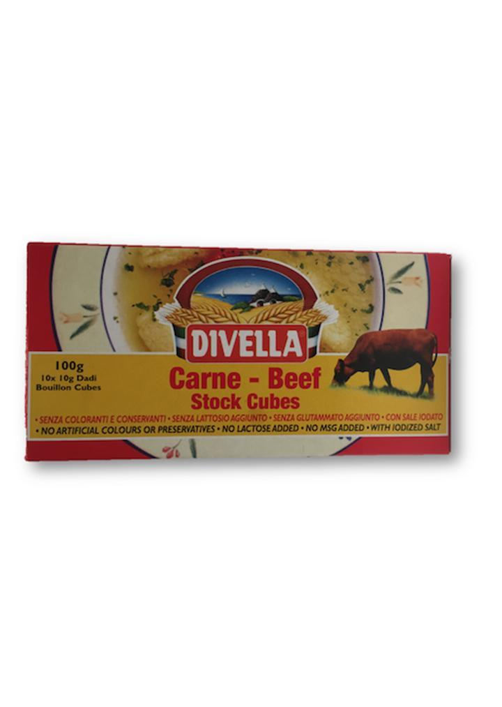 Divella - Carne beef stock cubes 100g