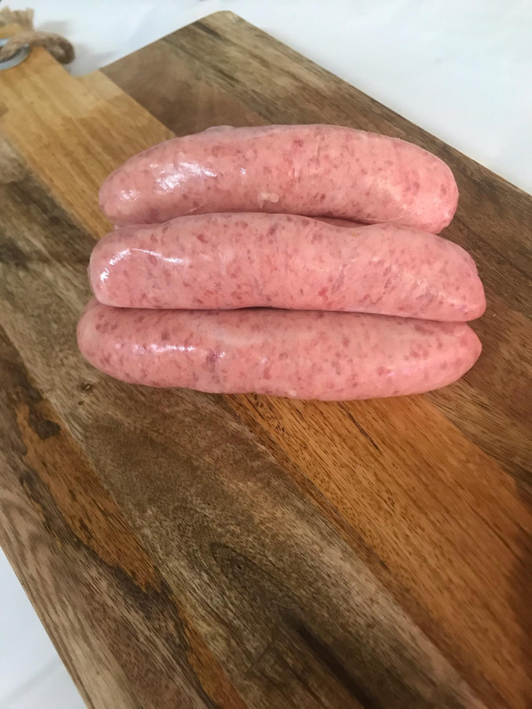 Homemade English Pork Sausages