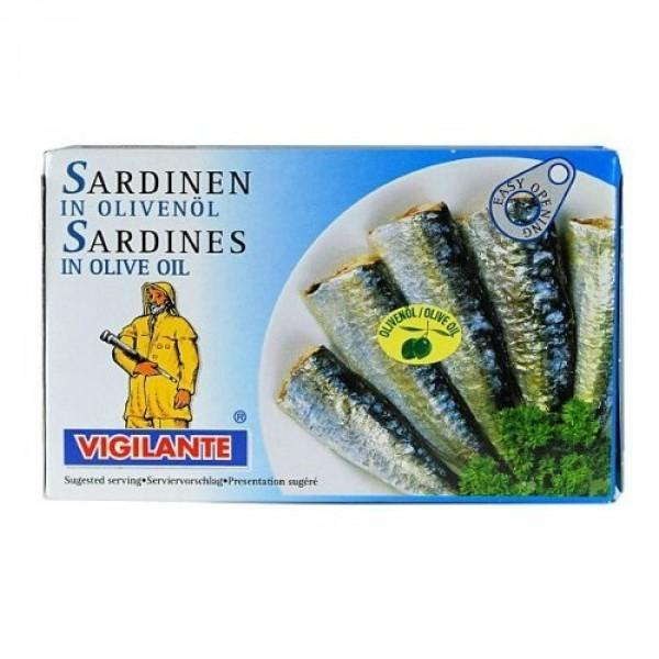 Vigilante Sardines in Vegetable Oil