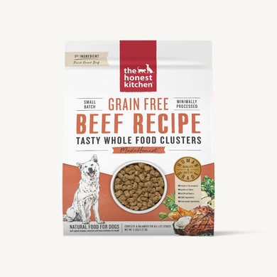 5lb T.H.K. GF Whole Food Clusters Beef Recipe for Dogs