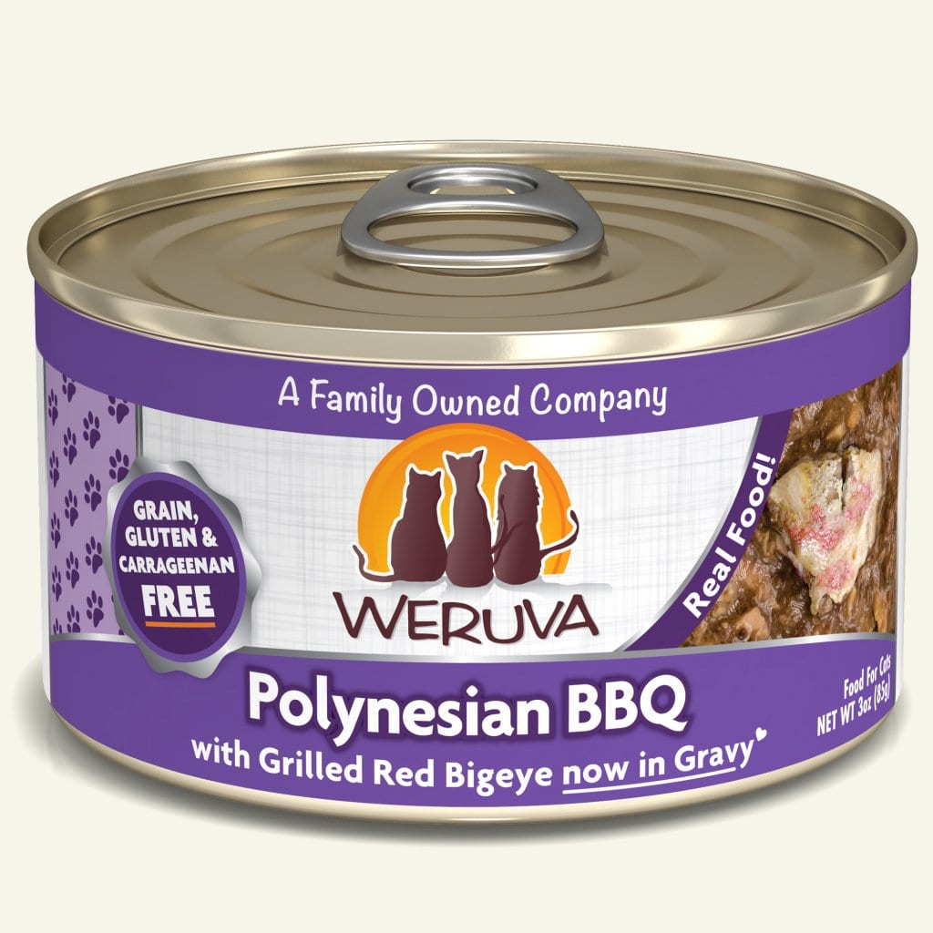 Weruva Polynesian BBQ for Cats 3oz