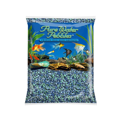 Pure Water Pebbles Blue Lagoon 5lbs