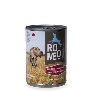 Romeo Turkey & Cranberries for Dogs 13oz