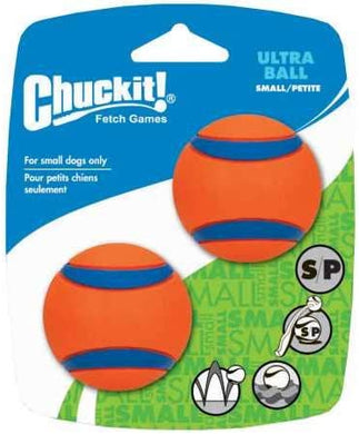 Canine Hardware Ultraball Small 2pk