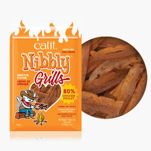 Catit Nibbly Grills Chicken and Lobster Flavour - 30 g