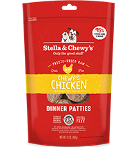 Stella & Chewy's Chewy's Chicken Freeze-Dried Dinner Patties 6oz