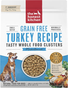 The Honest Kitchen Whole Food Clusters Turkey Recipe for Dogs 5lb