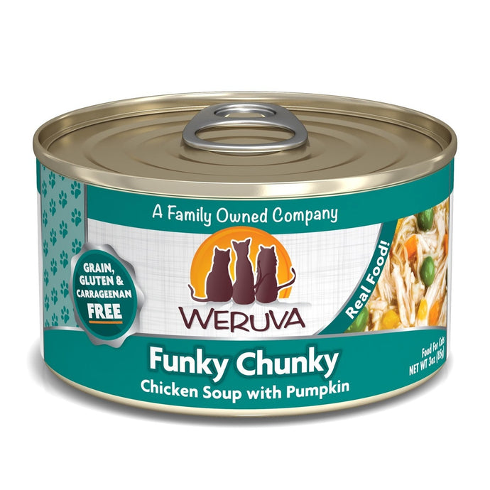 Weruva Funky Chunky for Cats 3oz