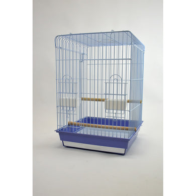 Glitter Pets Flat Top Parrot Cage 18x18
