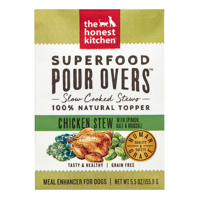 The Honest Kitchen Superfood Pour Overs Chicken Stew for Dogs 5.5oz