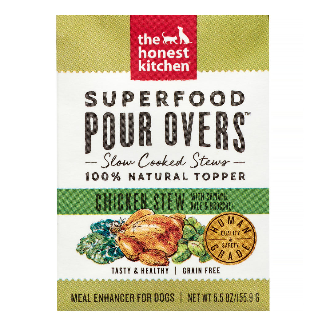 5.5oz THK Superfood Pour Overs Chicken Stew - Canine