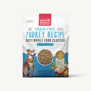 20lb T.H.K. GF Whole Food Clusters Turkey Recipe for Dogs