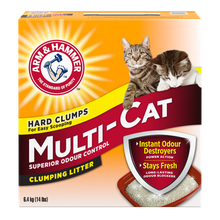 Load image into Gallery viewer, Arm & Hammer Multi Cat Scented Litter 30lb