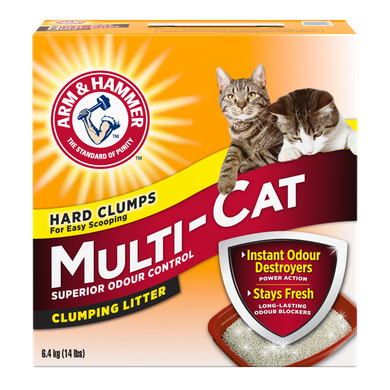 Arm & Hammer Multi Cat Scented Litter 30lb