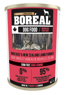 Boréal Angus Beef & New Zealand Lamb for Dogs 369g
