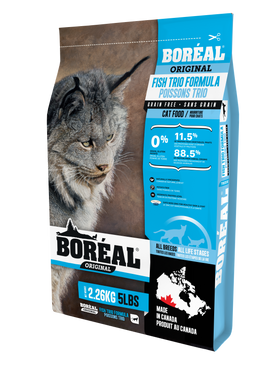 2.26kg Boreal Fish Trio for Cats
