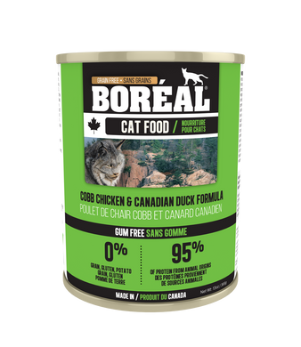 Boréal Cobb Chicken & Canadian Duck for Cats 369g