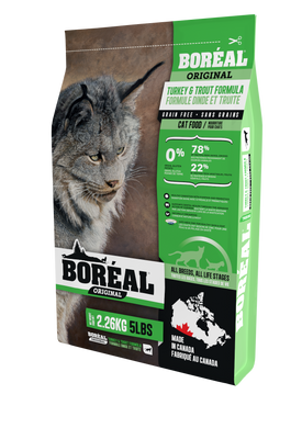 Boréal Original Turkey & Trout for Cats 2.26kg