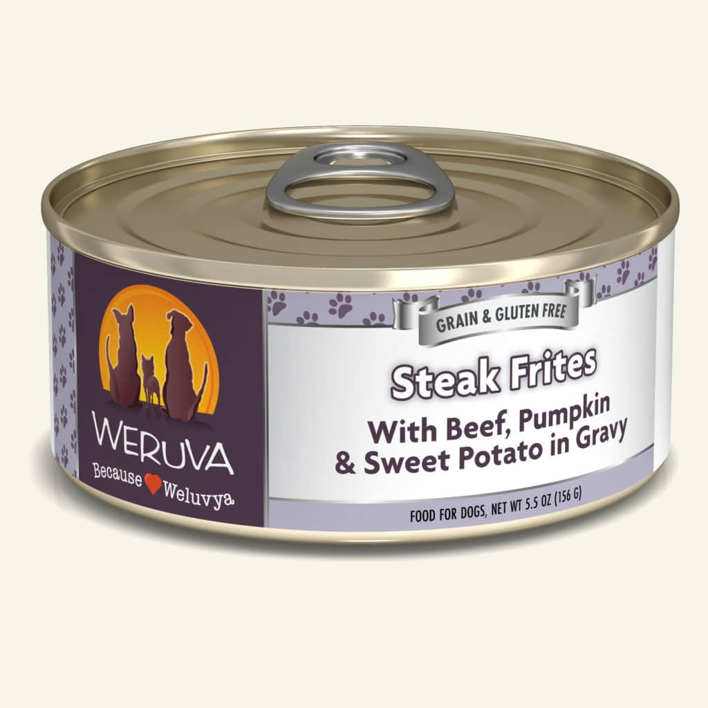 5.5oz Weruva Steak Frites - Canine
