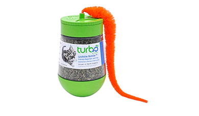 TURBO Dry Catnip Wobble Bottle