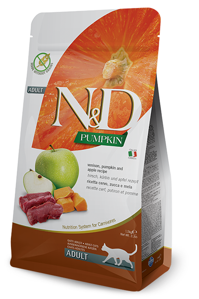 Farmina N&D Pumpkin Venison & Apple for Cats 3.3lb