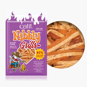 Catit Nibbly Grills Chicken and Scallop Flavour - 30 g