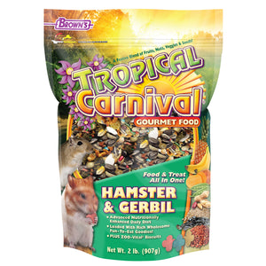 Brown's Tropical Carnival Gourmet Hamster Food 2lb