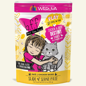 Weruva BFF PLAY Chicken & Duck Destiny for Cats 3oz