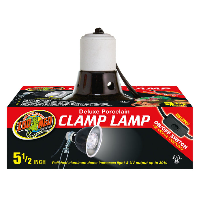 Zoo Med Porcelain Clamp Lamp 5.5