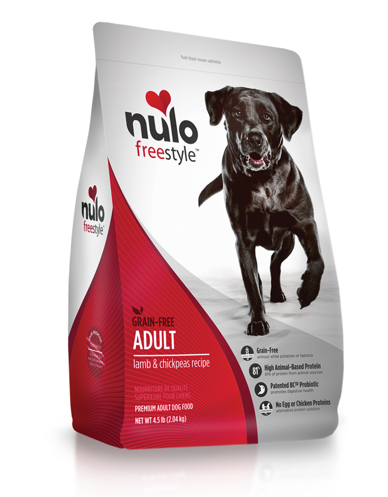 Nulo Freestyle High-Meat Kibble Lamb & Chickpeas Recipe