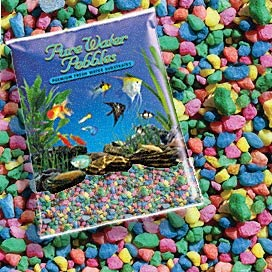Pure Water Pebbles Neon Rainbow 5lbs