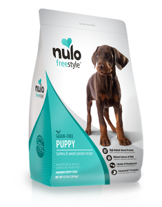 Nulo Freestyle High-Meat Kibble for Puppies Turkey & Sweet Potato Recipe