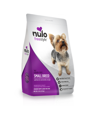 Nulo Freestyle High-Meat Kibble for Small Breeds Salmon & Red Lentils Recipe