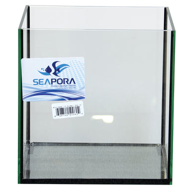 Seapora Rimless Cube Aquarium - 4 gal
