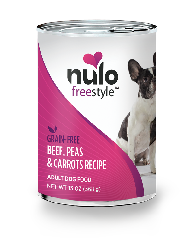 Nulo Freestyle Beef, Peas, & Carrots Recipe for Dogs 13oz Can